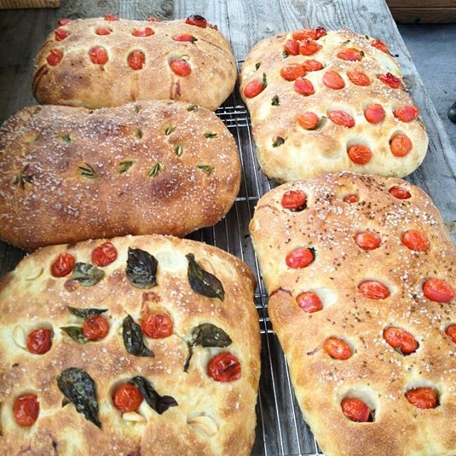 Foccacia bread made in a wood fired oven! One of the many recipes you will learn as a student at Pilgrims au Pain. Currently working on some new 5 day courses for 2019. . . . . . #wanderlust #earth #baking #breadcourses #food #travel #bestvacations #travelphotography #luxurylife #travelblogger #adventure #dream #vacation #bucketlist #baker #bread #france #bakingclass #worldtraveler #liveyourdream #foccacia