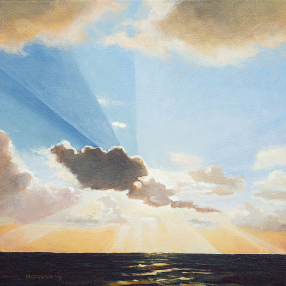 Sunlight and Cloud on the Passage to Malta, from the Artist's Website