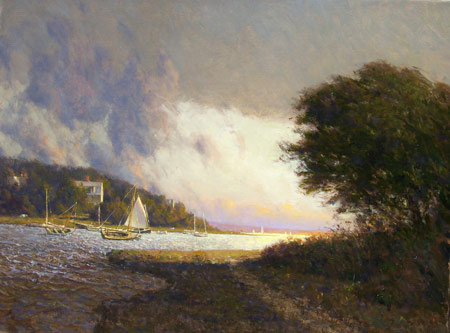 Clearing Early Fall From the artist's website