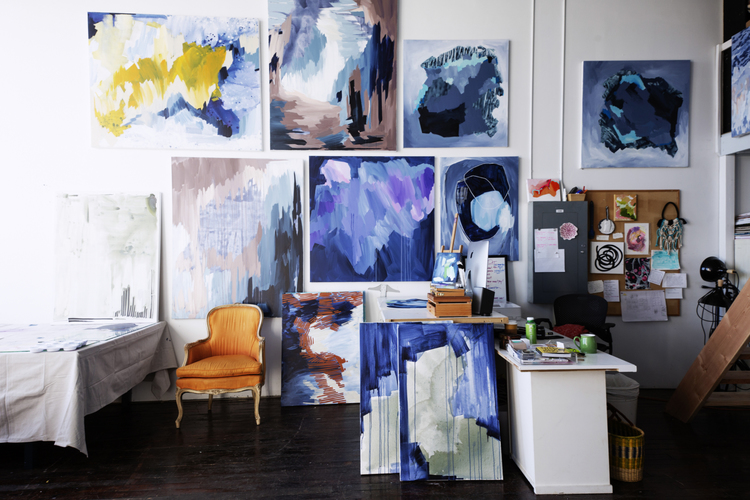 The artist's studio occupies a unique place in our collective imagination... -
