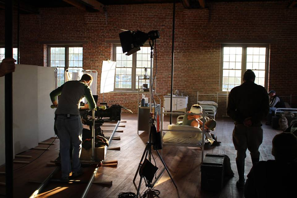 Filming at The Roundhouse