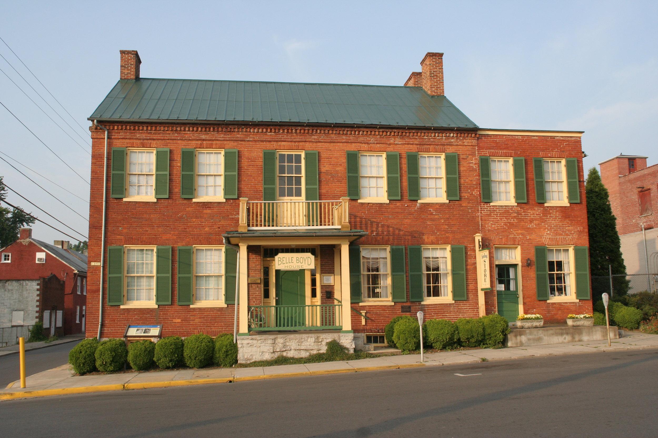 Belle Boyd House c 1853
