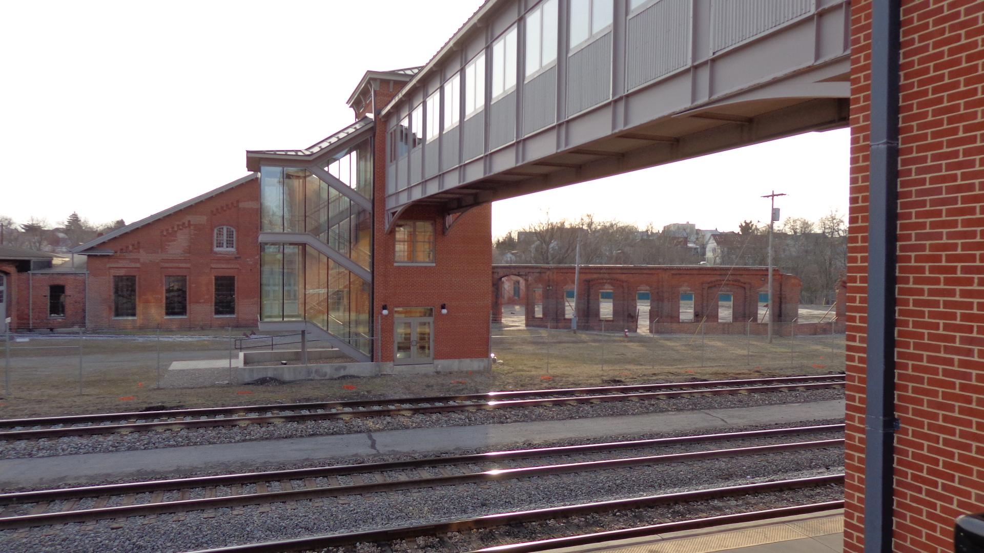 Caperton Train Station & Bridge to Roundhouse