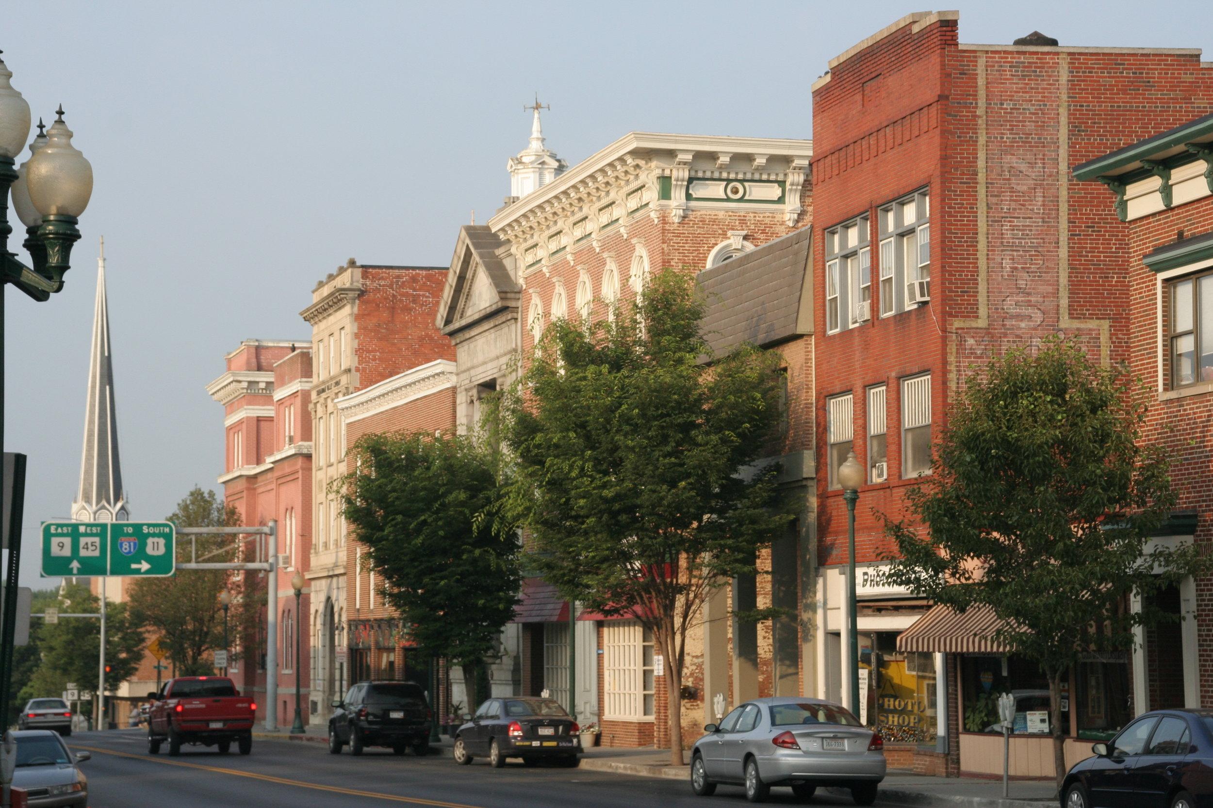 Historic Downtown Martinsburg-Queen Street