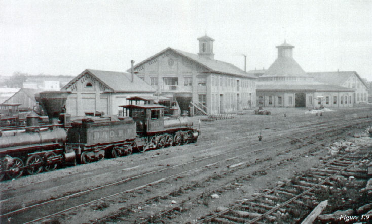 B&O Roundhouse c mid-1800's