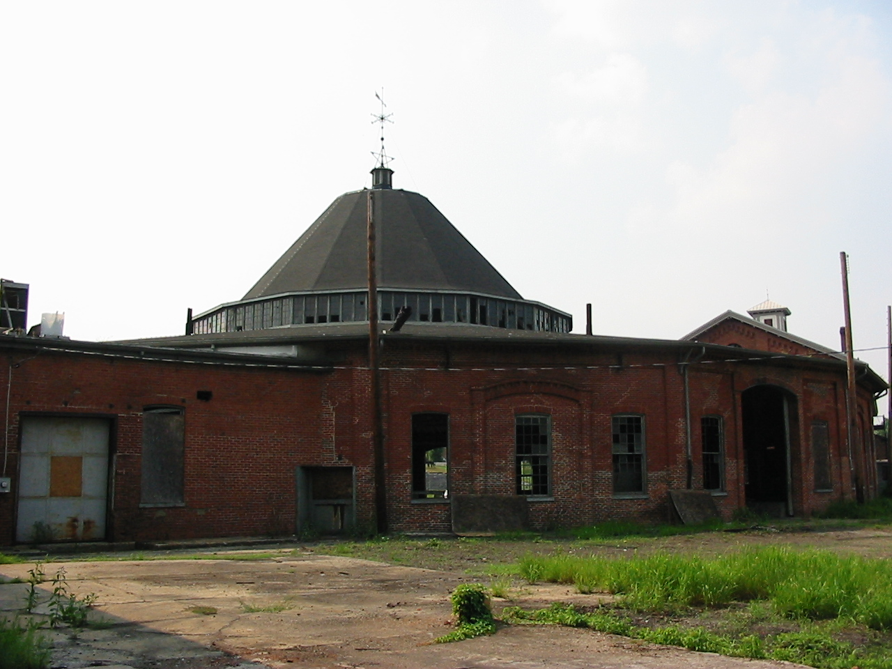 Roundhouse before restoration