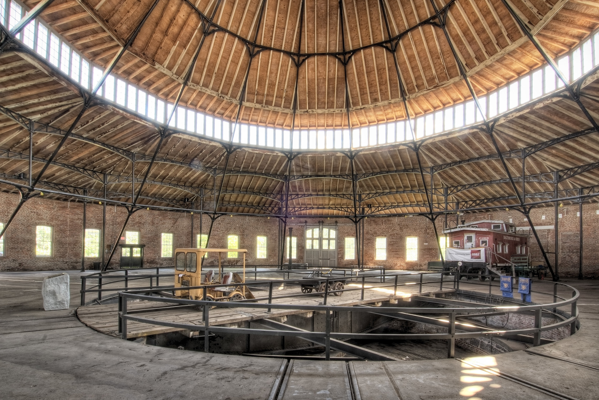 Interior of Roundhouse