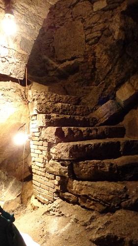 Tunnels below Martinsburg