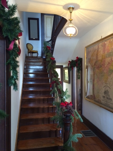 Original staircase at Belle Boyd House (c 1853)