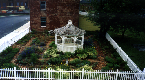 Herb Garden at Archives Building