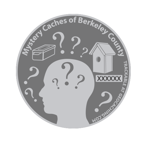 Mystery Caches of Berkeley County - 16 coins are currently available.