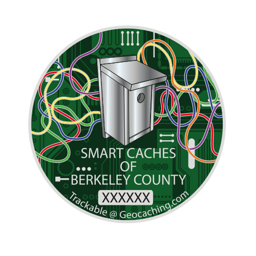 Smart Caches of Berkeley County - 82 coins are currently available.