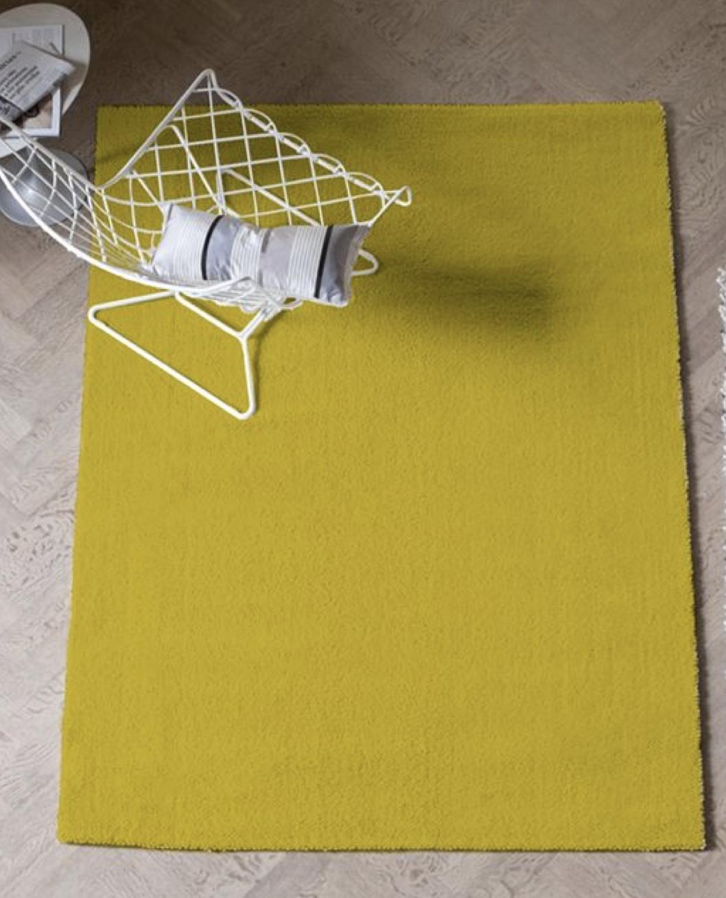 Soho Lemon Rug from Designers Guild