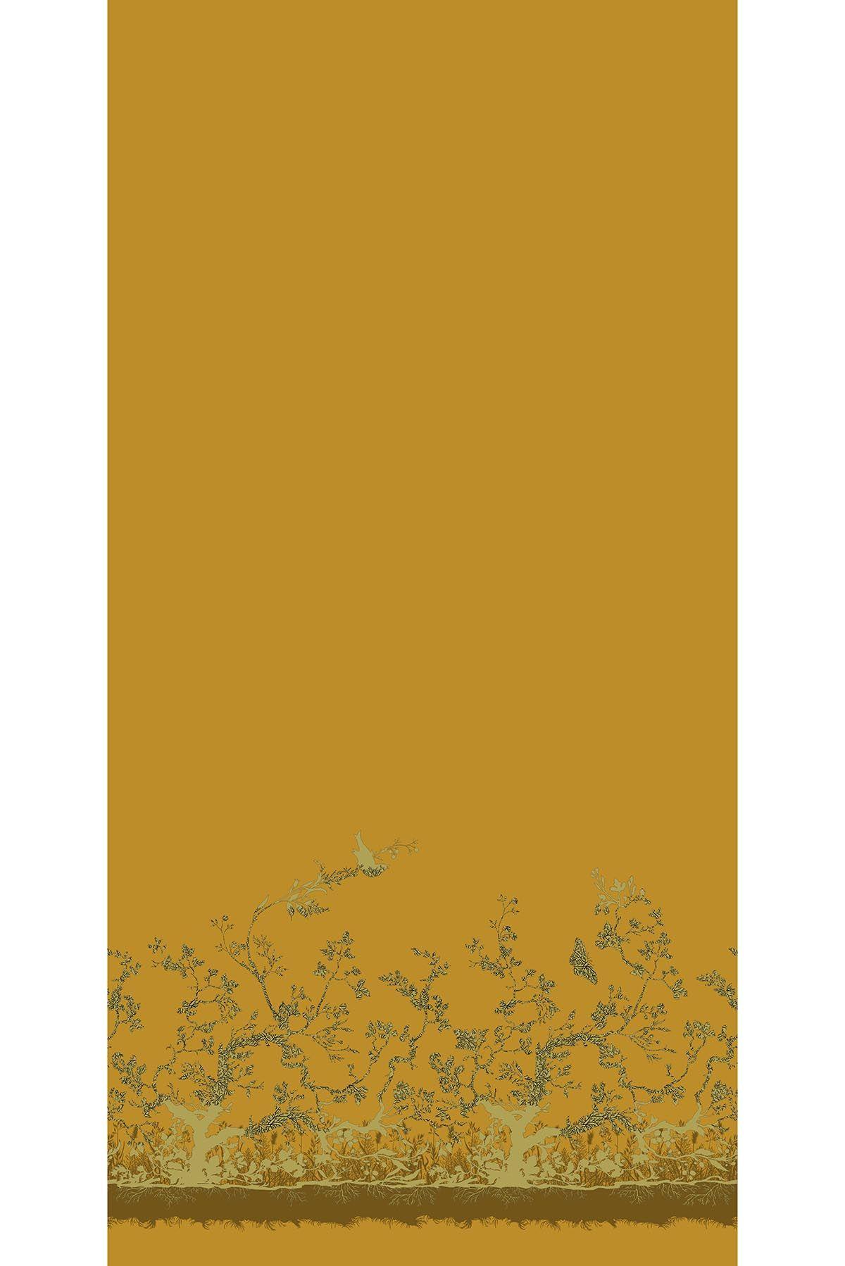 Birdbranch Velvet Panel by Timorous Beasties