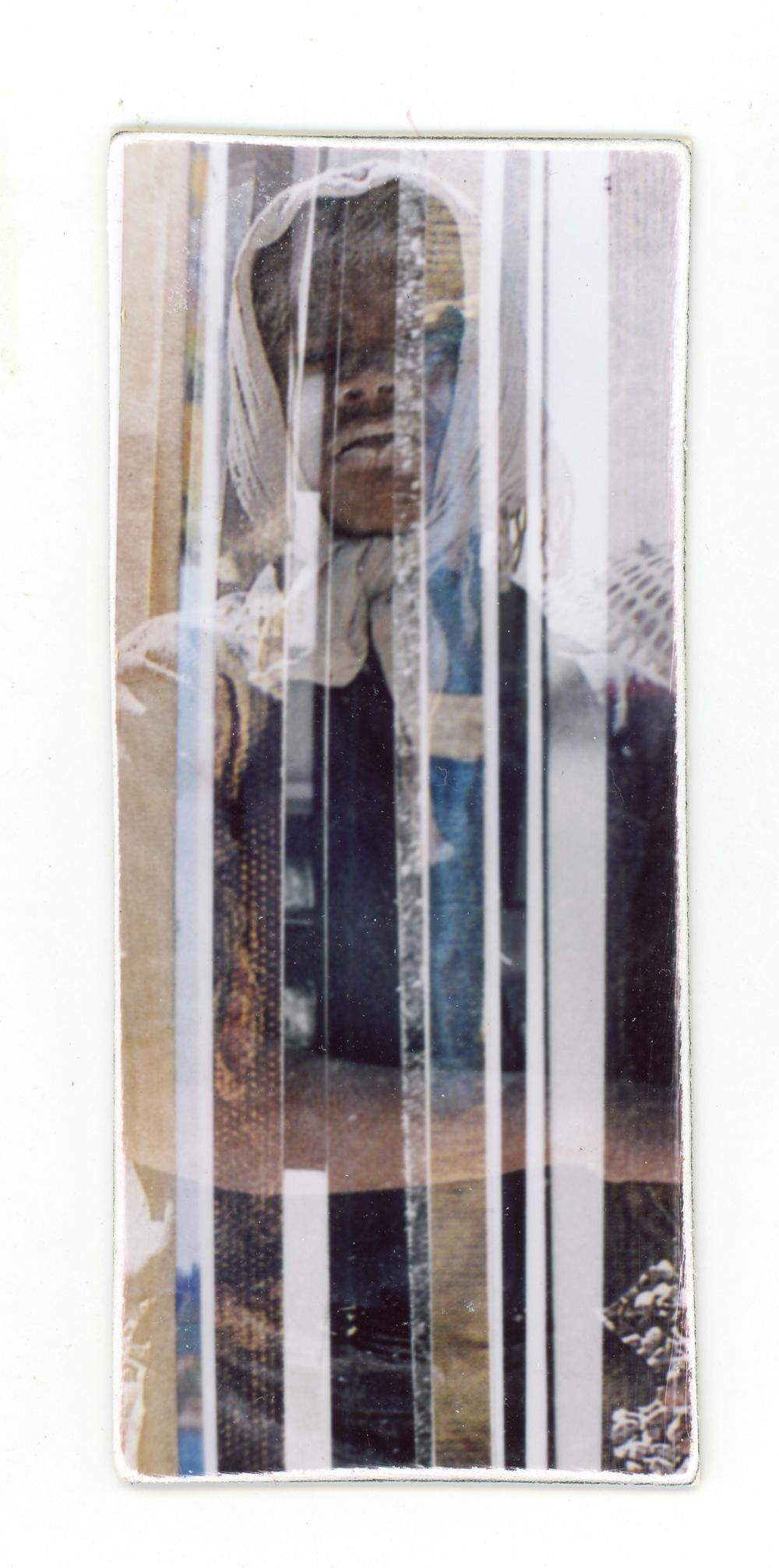 Dissolves Outtake (Unique polaroid print mounted on cardstock)