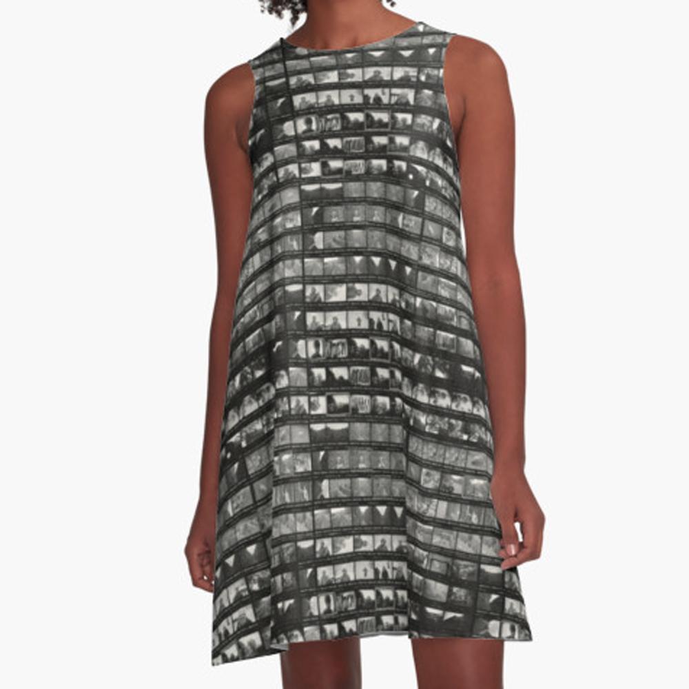 Contact Sheet Dress for Maia