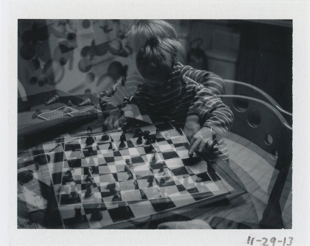 Cy Playing Chess, 2013