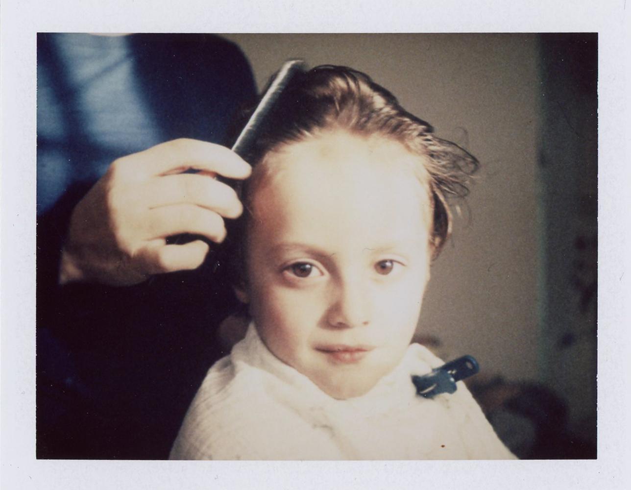 Avery Getting a Haircut, 2017