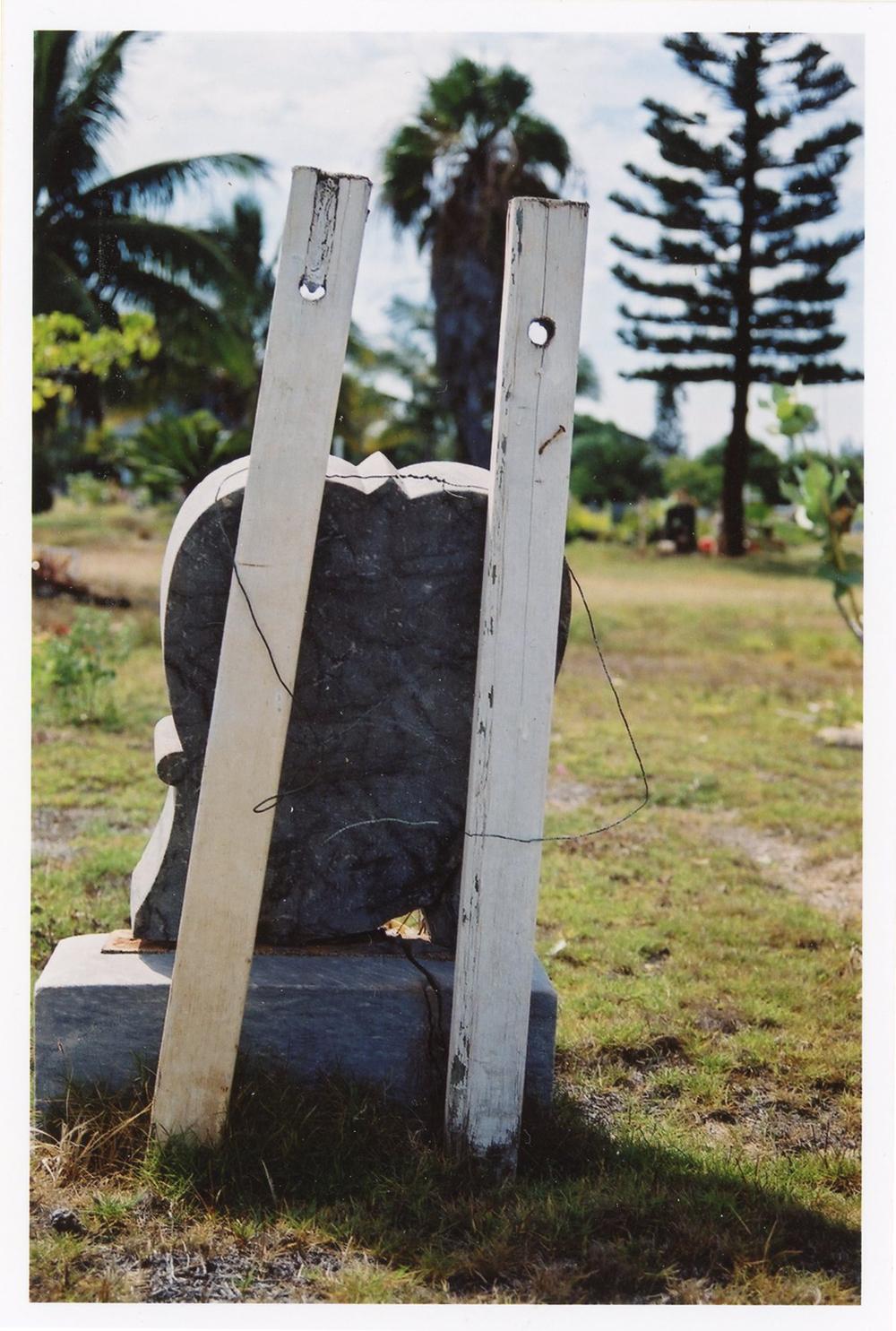 Broken Headstone, 2003