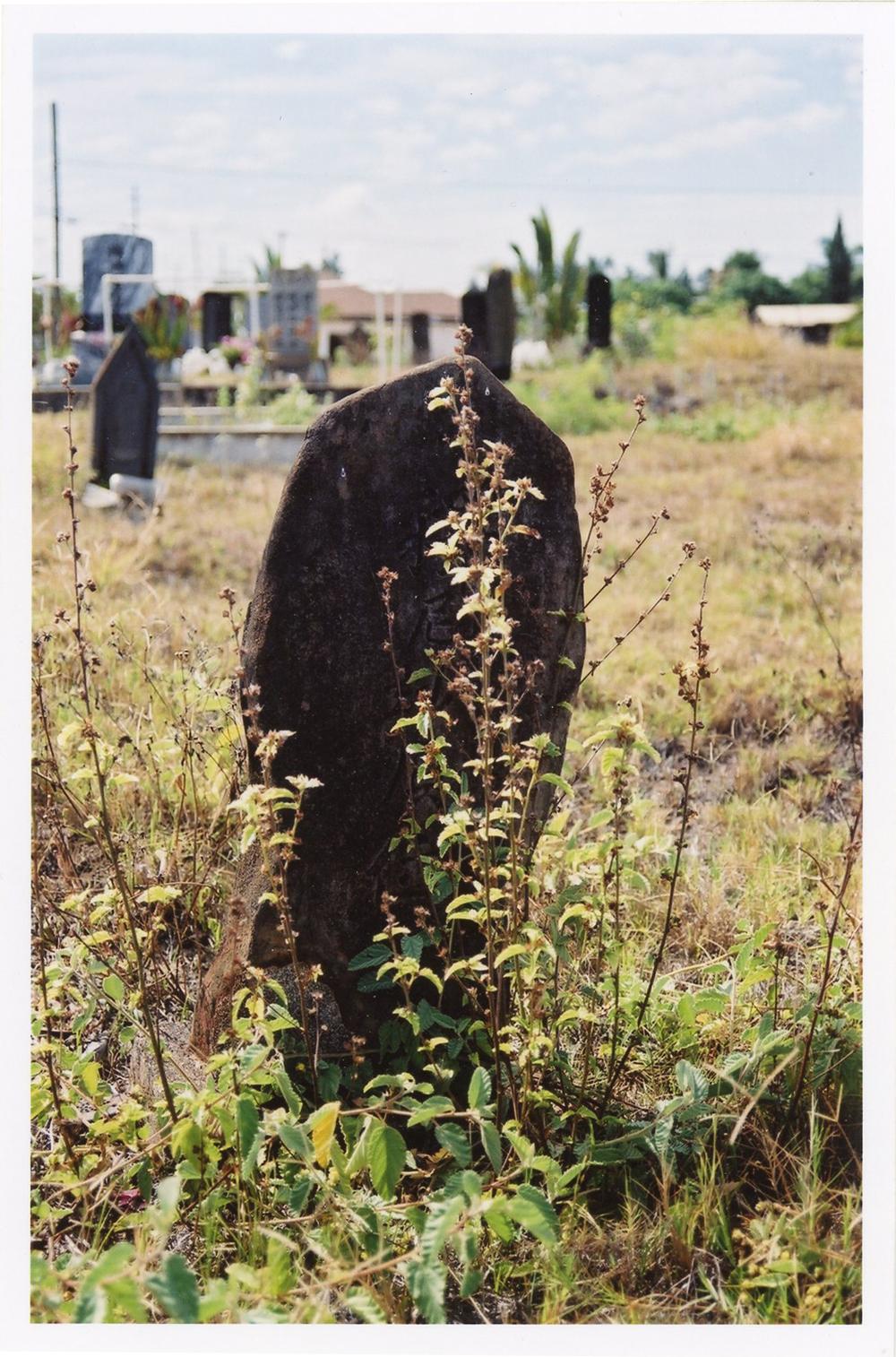 Headstone, 2003