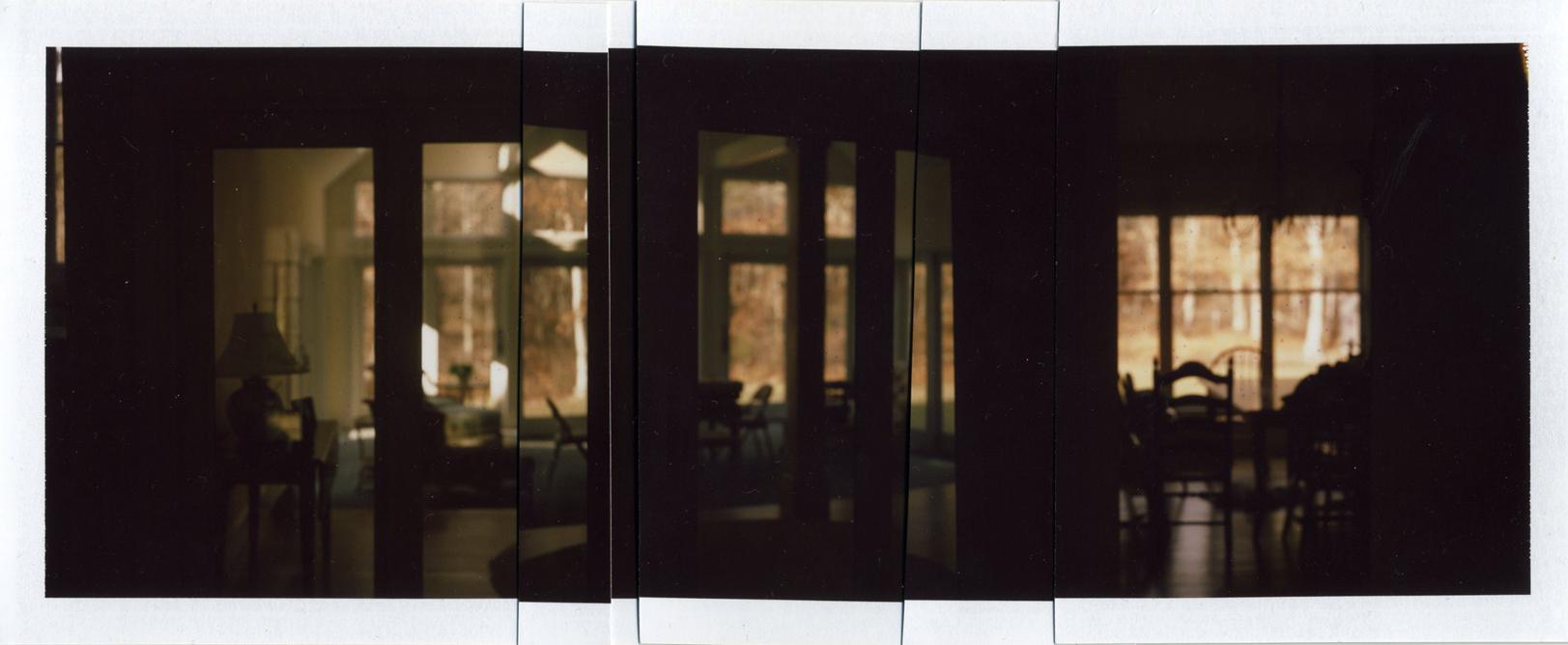 Brewster (Interior), 2011 (Collaged Polaroids)