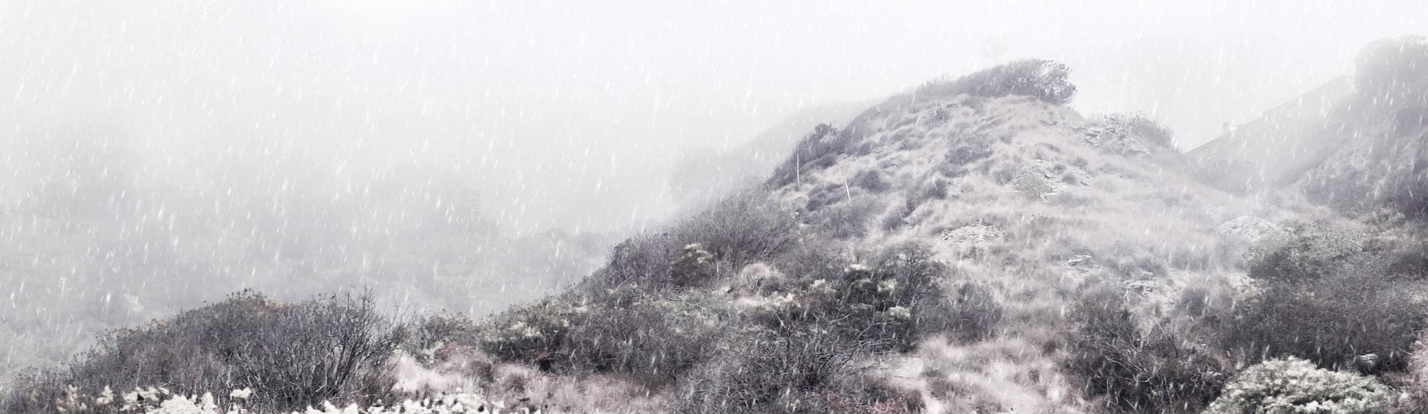 First Snowstorm, 2018