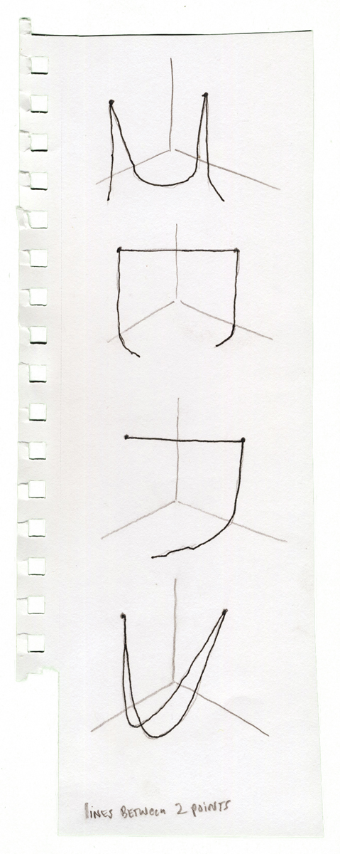 String Sculpture Sketches, undated