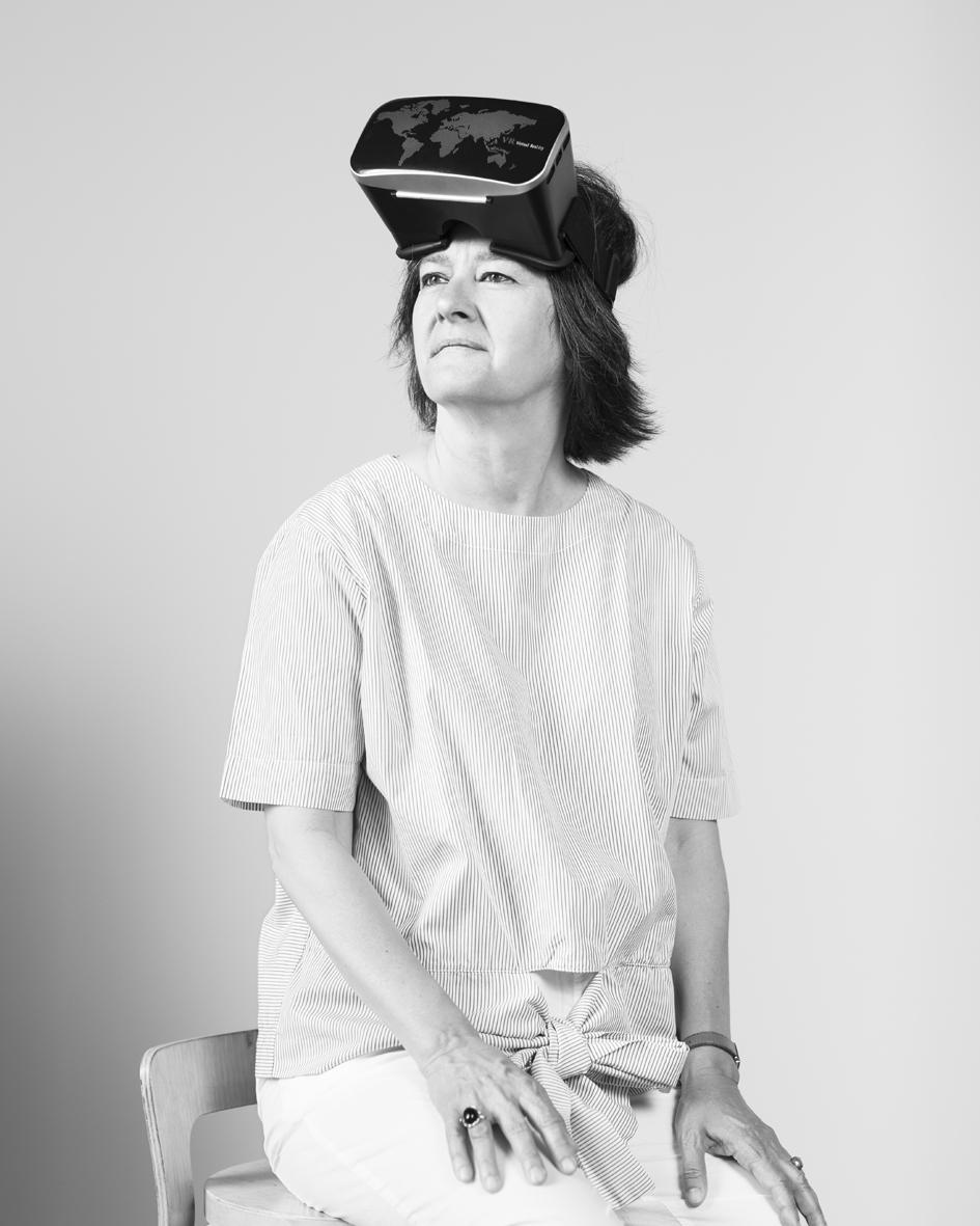 Anita Van Belle  is a virtual reality expert