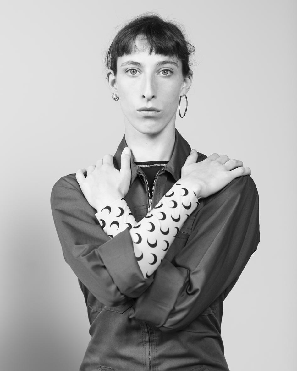 Juliet Mérie  is an artiste, a printmaker and a model