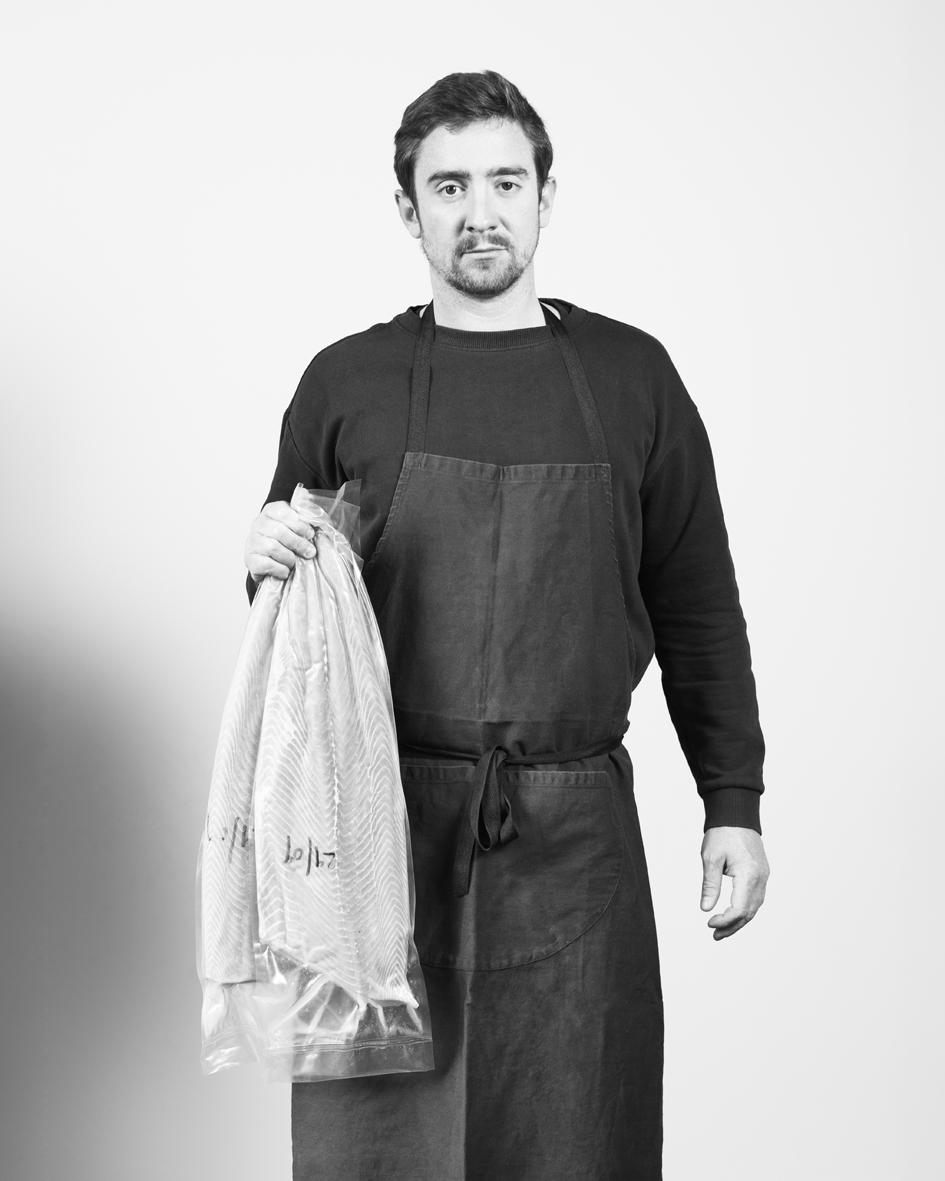 """Cédric Mosbeux  runs Fernand Obb Delicatessen, a Belgian   """"popular cuisine"""" restaurant, famous for their   prize-winning """"croquette de crevettes"""""""