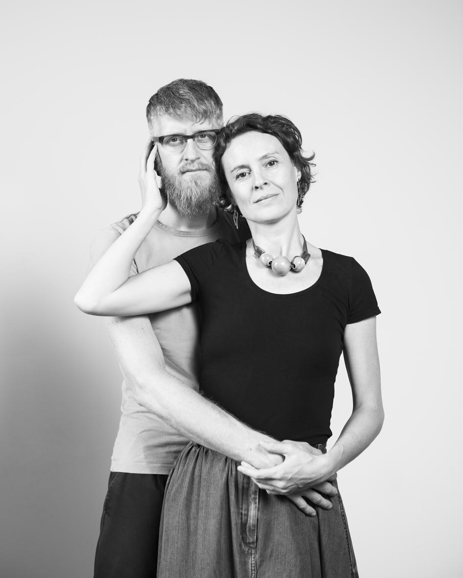 Caroline Baerten & Nicolas Decloedt  own the restaurant Humus x Hortense  a rendez-vous botanique
