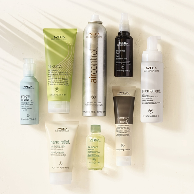 Wildroot Hair Salon  carries Aveda essential oils, skin care, hair care, and the newest makeup collection