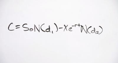 Black-Scholes Call Formula