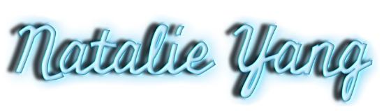 Logo design for Natalie Yang