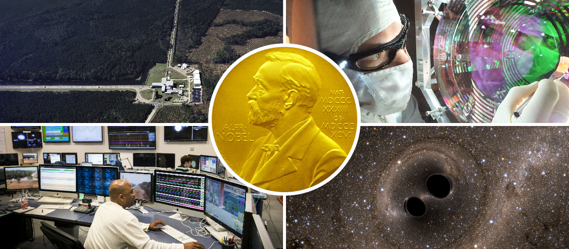 Graphic:  LIGO Gravitational Wave Detection Wins Nobel Prize