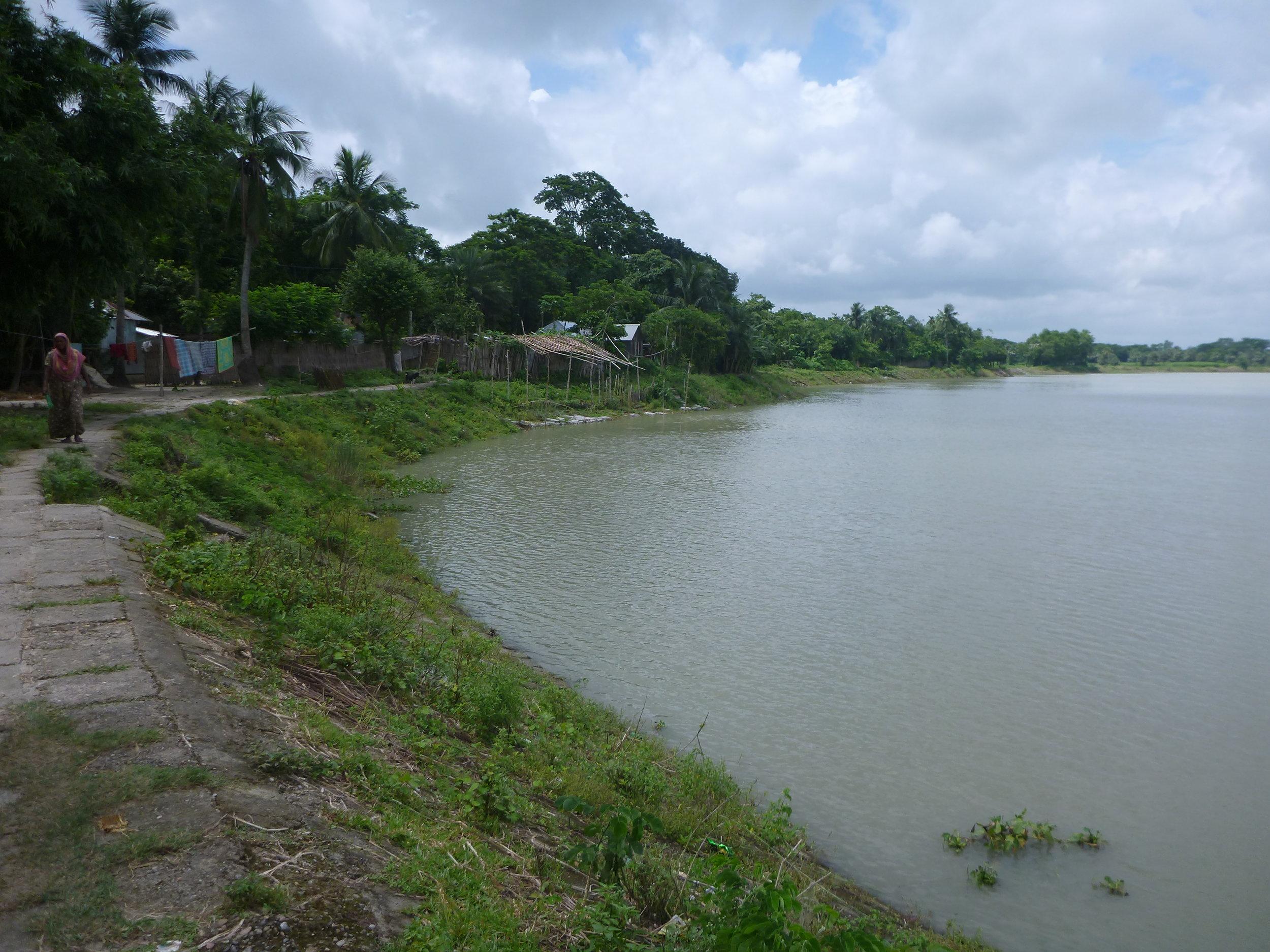 Life in the Ganges-Brahmaputra Delta. Credit: Dr. Carol Wilson.