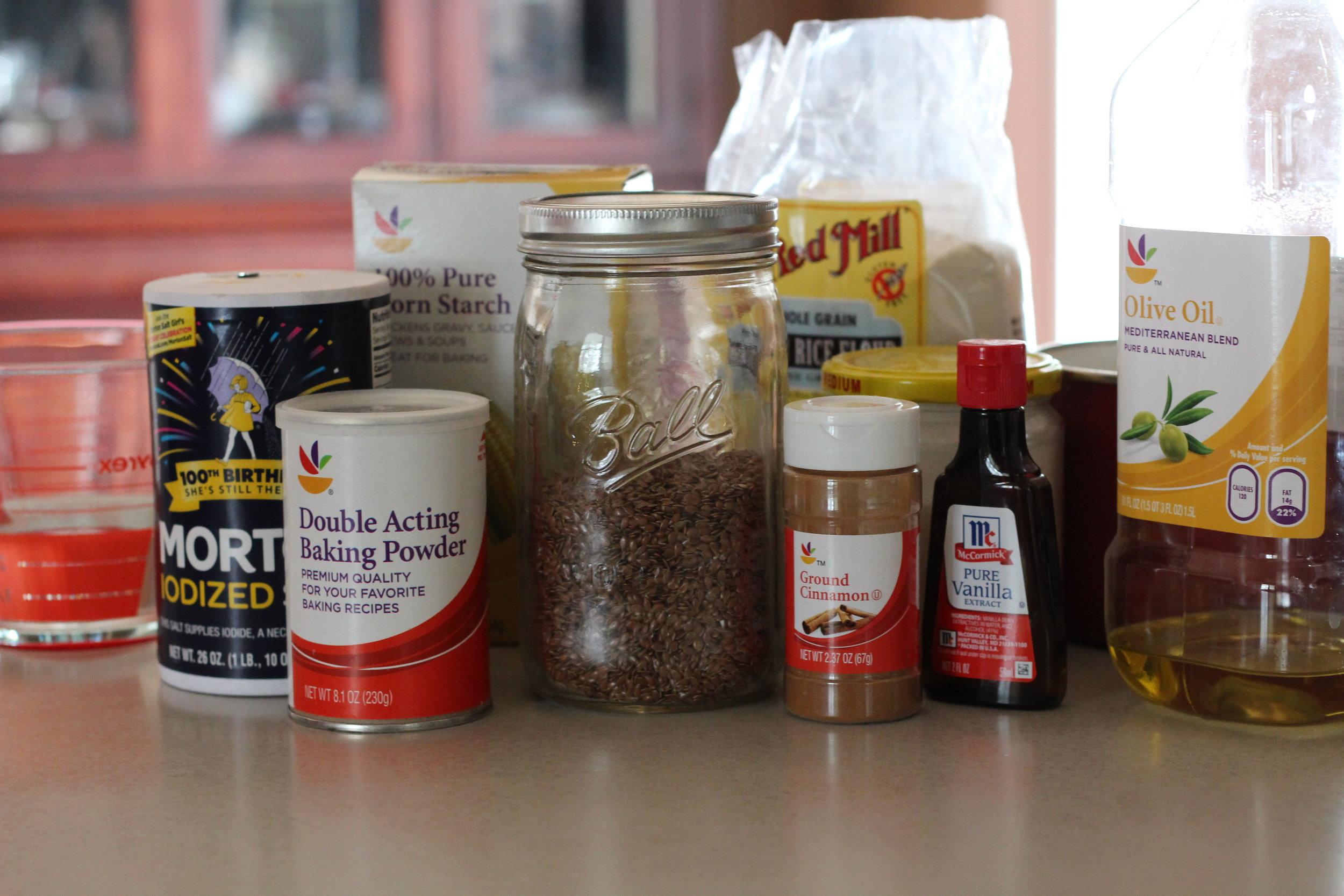 Flaxseed Waffles Ingredients