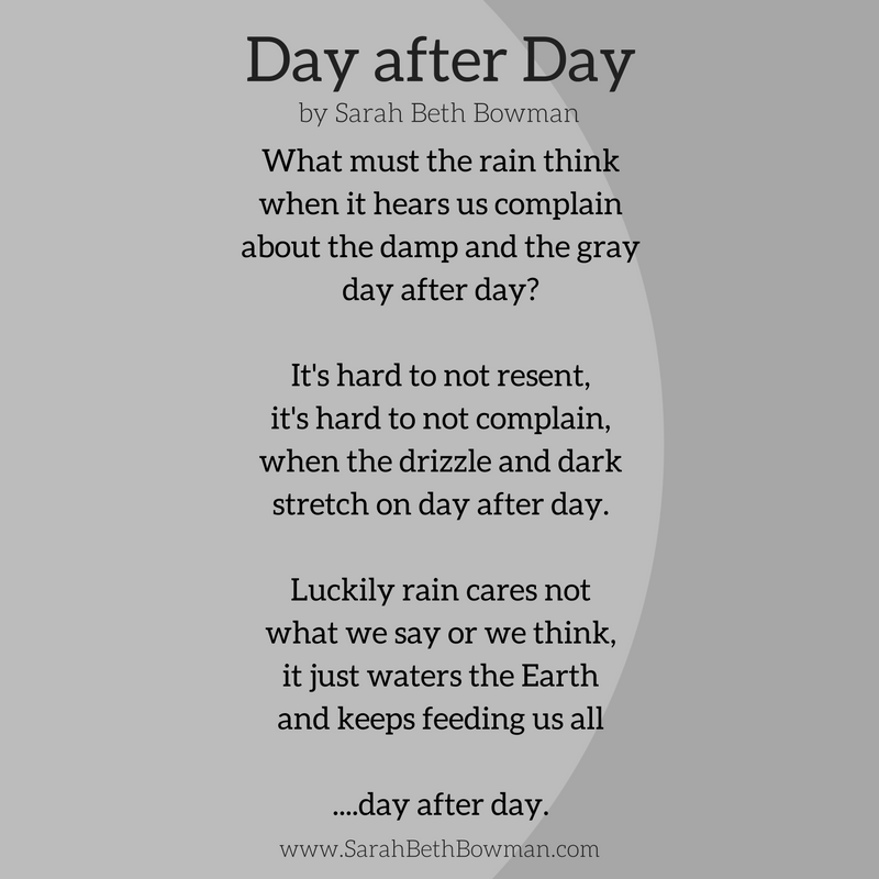 Day 3 : rain