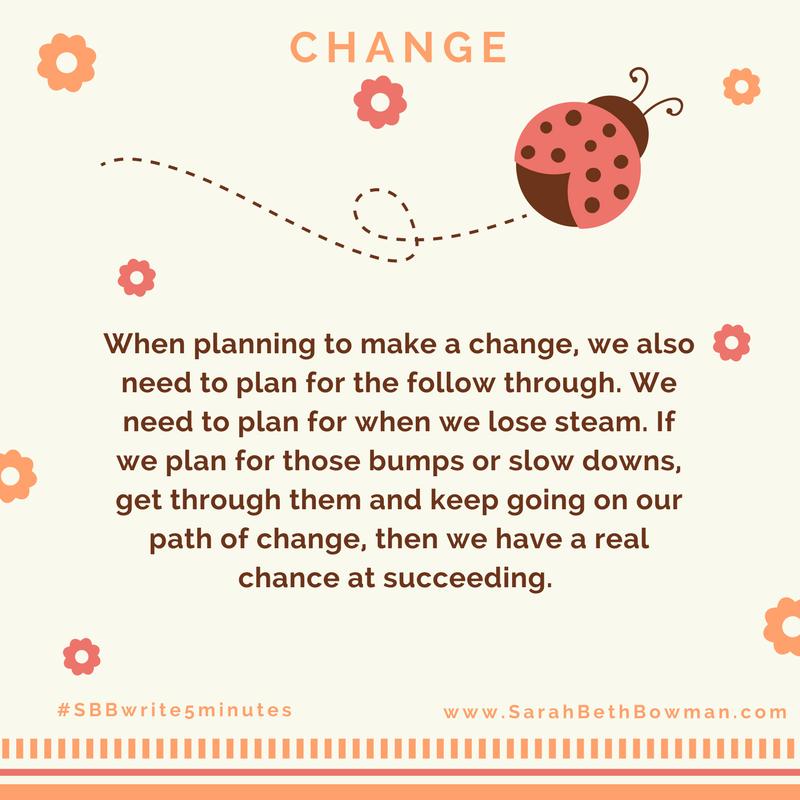 Day 10 : change