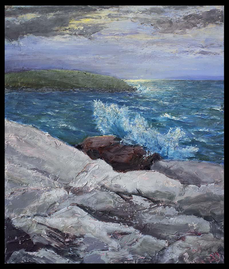 Breaking Sea