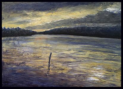 Hobbs Pond at Sunset