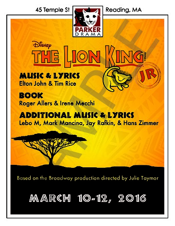 Copy of The Lion King Jr