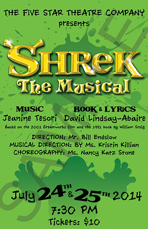 Copy of Shrek the Musical
