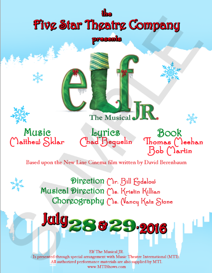 Copy of Elf The Musical
