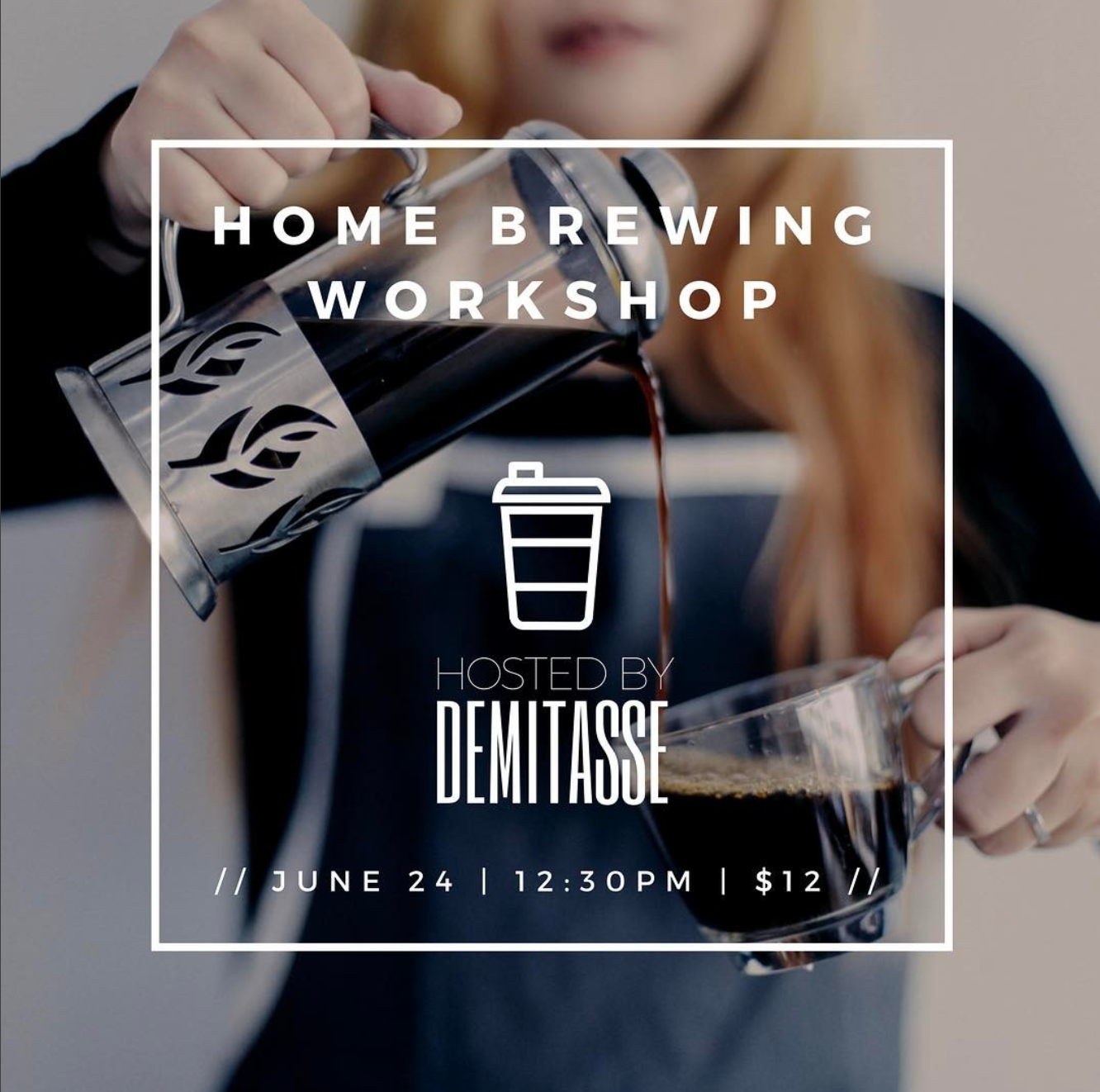 Do you wish you could brew better coffee at home? This is an introductory class focused on teaching the importance of water filtration, grinders, scales, extraction, & brew ratio.  We will spend time with small groups showing you how to properly brew on different brew methods. We will show you everything you will need to have at home to assist in making your coffee drinking experiences really amazing.  At the end of the class, you will leave with knowledge to brew coffee at home. You will also be able to purchase of any brew related equipment you use in the class! Class is about an hour in length & will be located at Cafe Demitasse in WeHo.  We look forward to spending the afternoon with you and teaching you these amazing brew methods!  RSVP  here .