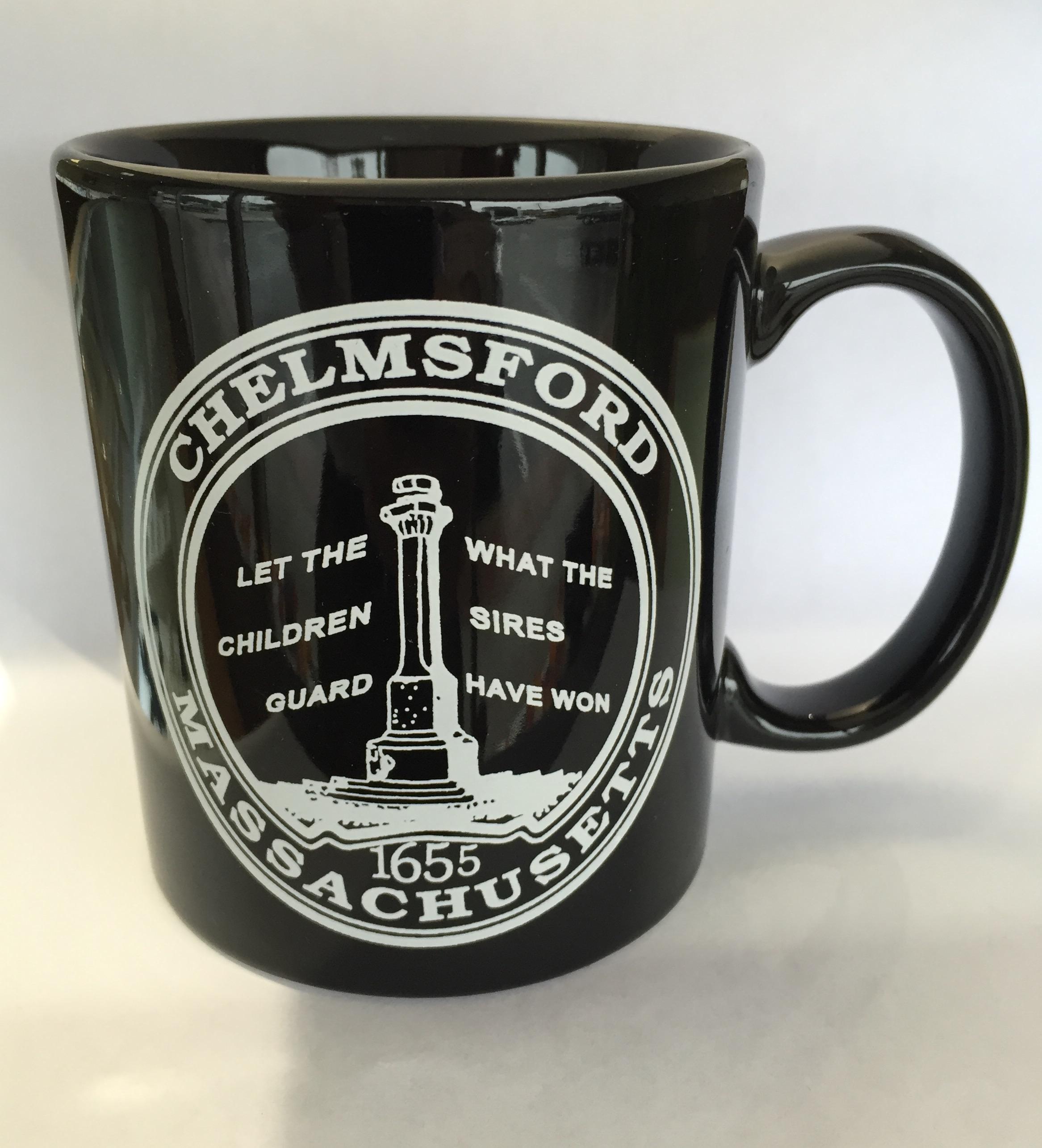 Black Chelmsford Mug $10