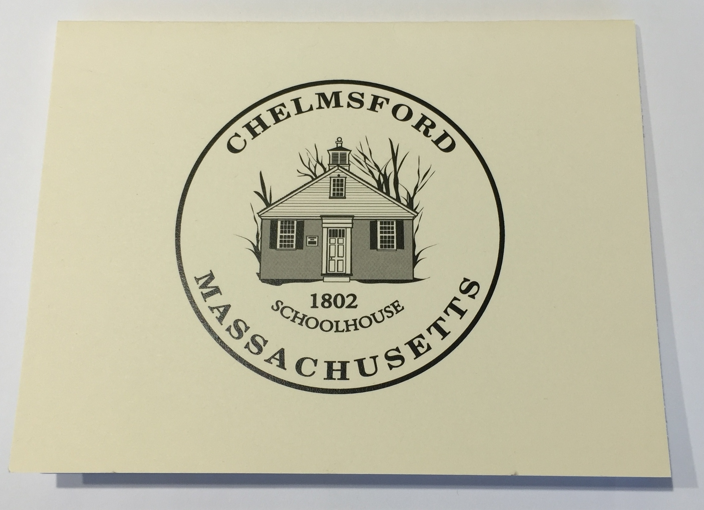 Chelmsford Note Cards $1 each or 4 for $3.50