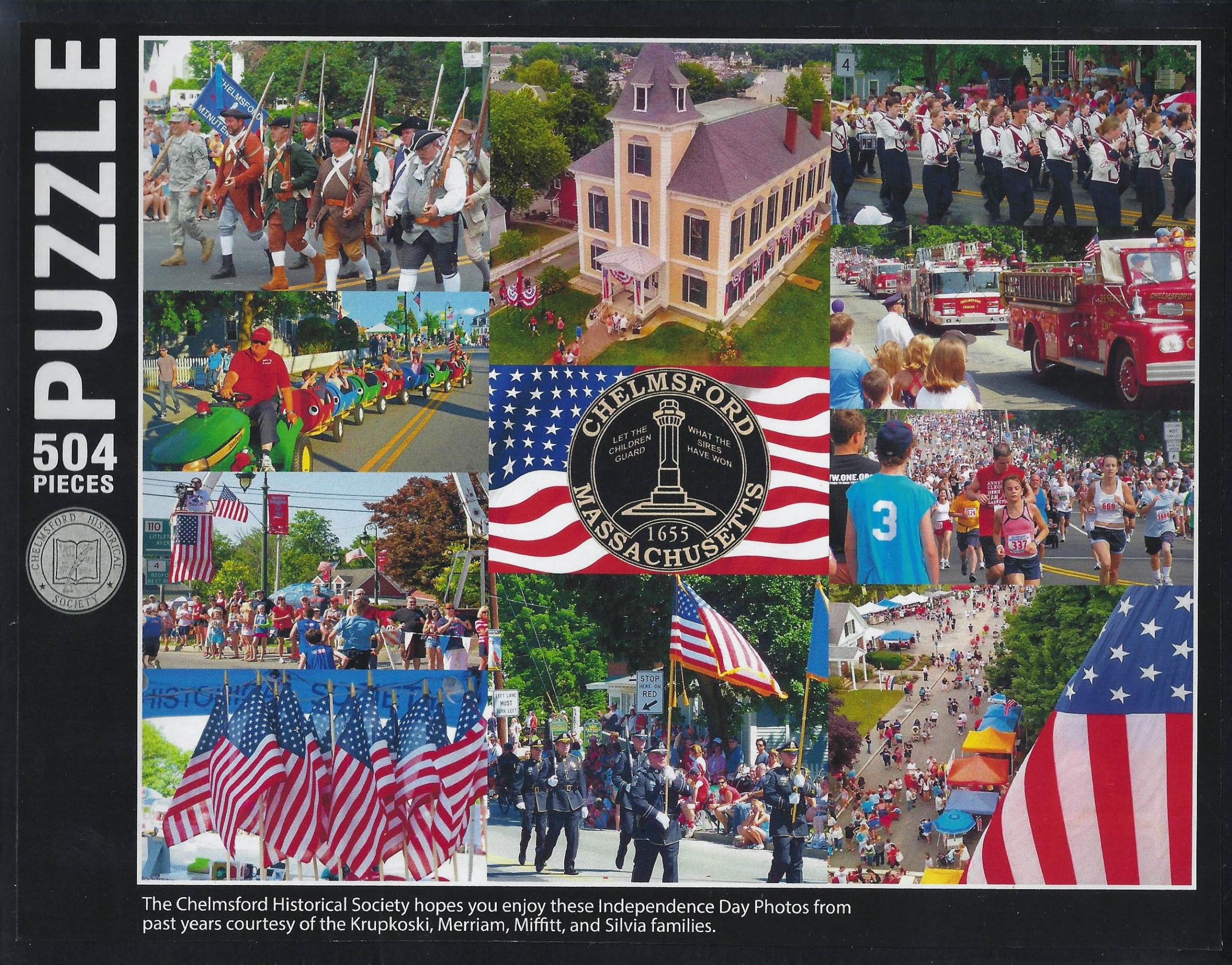 Chelmsford Independence Day Puzzle $20 New!