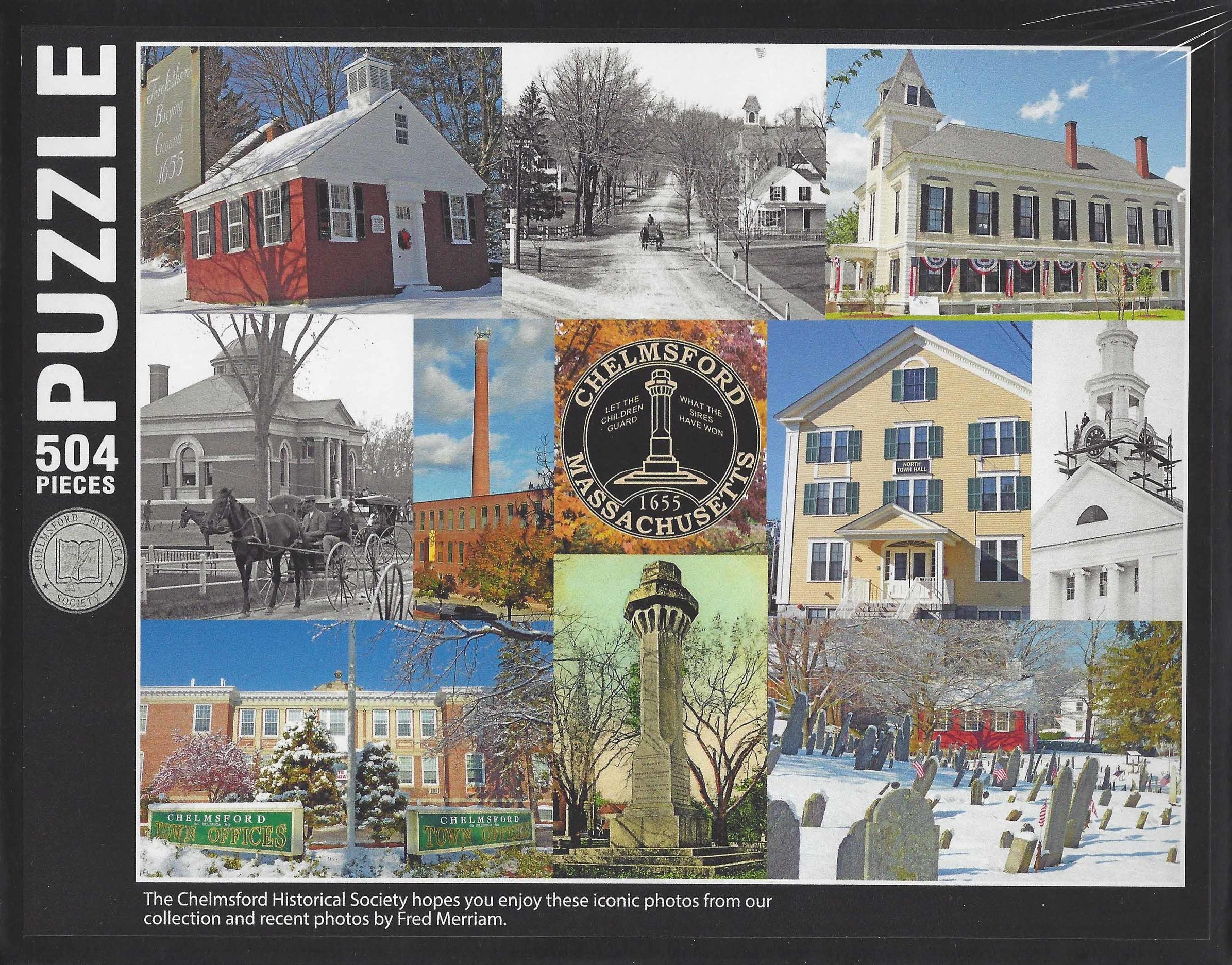 Chelmsford Puzzle $20 Back in Stock!