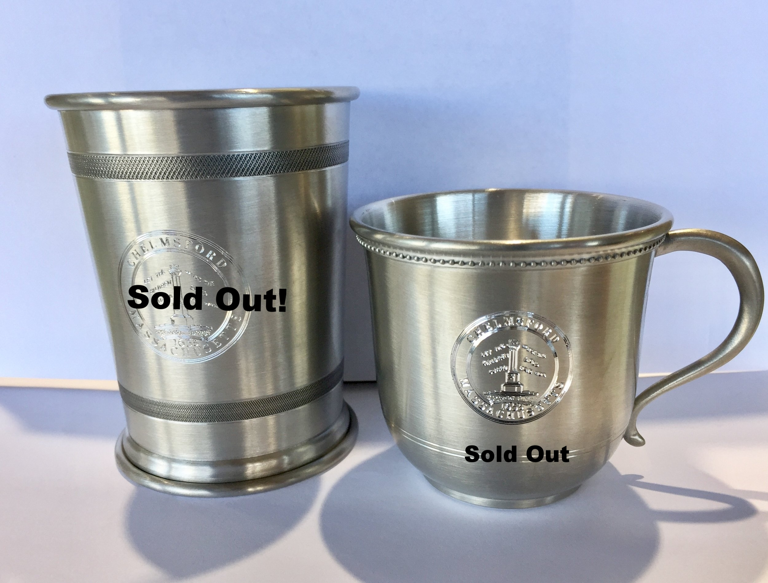 Pewter Cup $30 -Pewter Baby Cup $20